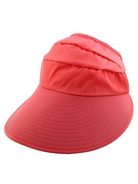 e1028403 Product Image Lady Polyester Leaf Printed Holiday Beach Floppy Cap Sun  Visor Hat Aquamarine