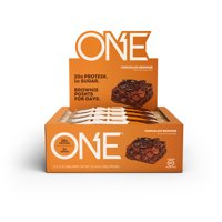 ONE Protein Bar, Chocolate Brownie, 20g Protein, 12 Ct