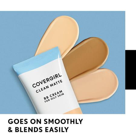 COVERGIRL Clean Matte BB Cream 560 Deep 1 fl oz