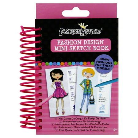 Fashion Design Mini Sketch Book by Fashion Angels - Fashion Angels Sketch Portfolio
