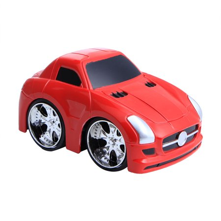 Red Mini Model - Mini Vehicle Children Kids Toy Decor Diecast Pull Back Car Model Xmas Gift New