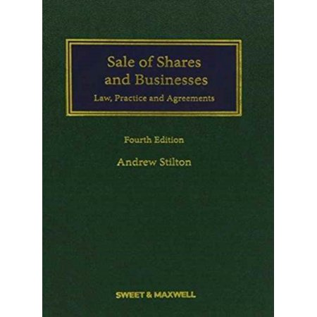 Sale Of Shares And Businesses  Law Practice And Agreements  Commercial Series   Hardcover
