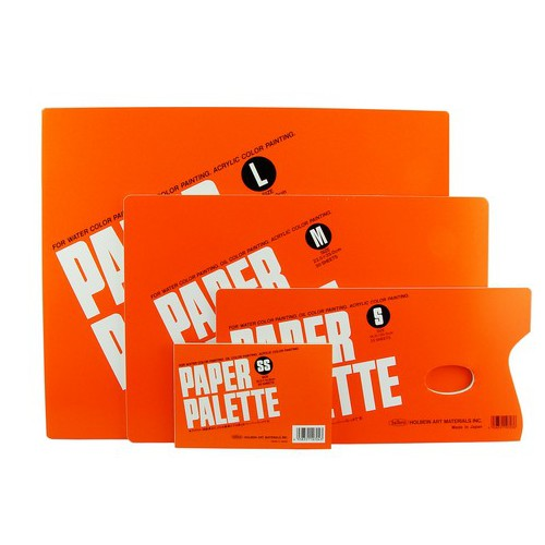 HOLBEIN ARTISTS COLORS 1023SS PAPER PALETTE PAD 5-3/4X3-7/8