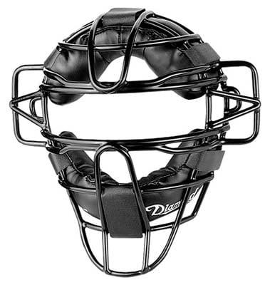 Diamond Black Catcher's Mask