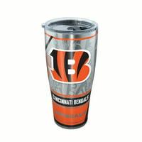 NFL Cincinnati Bengals Edge 30 oz Stainless Steel Tumbler with lid