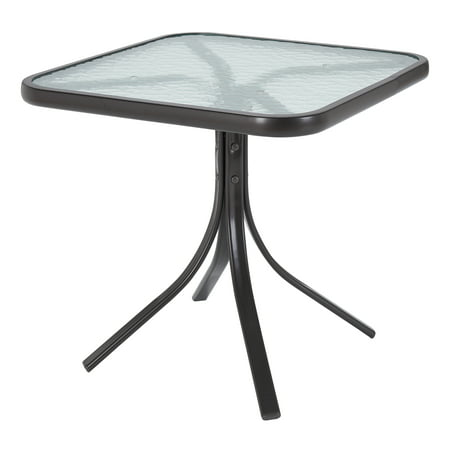 Mainstays Square Glass Patio Table, 20
