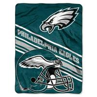 Philadelphia Eagles The Northwest Company 60'' x 80'' Slant Rashcel Throw