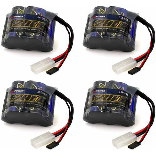 Venom 6v 4200mAh 5-Cell Hump Receiver NiMH Battery for HPI Baja x4 Packs