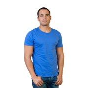 Agiato Men's Basic Crew Neck T-Shirt