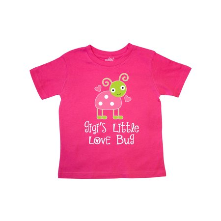 Gigi Valentines Day Grandchild Ladybug Toddler - Valentine T Shirts For Toddlers