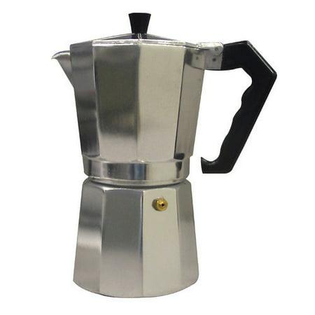 One Cup Stovetop Coffee Maker : CucinaPro Aluminum Stovetop 1 Cup Espresso Maker - Walmart.com