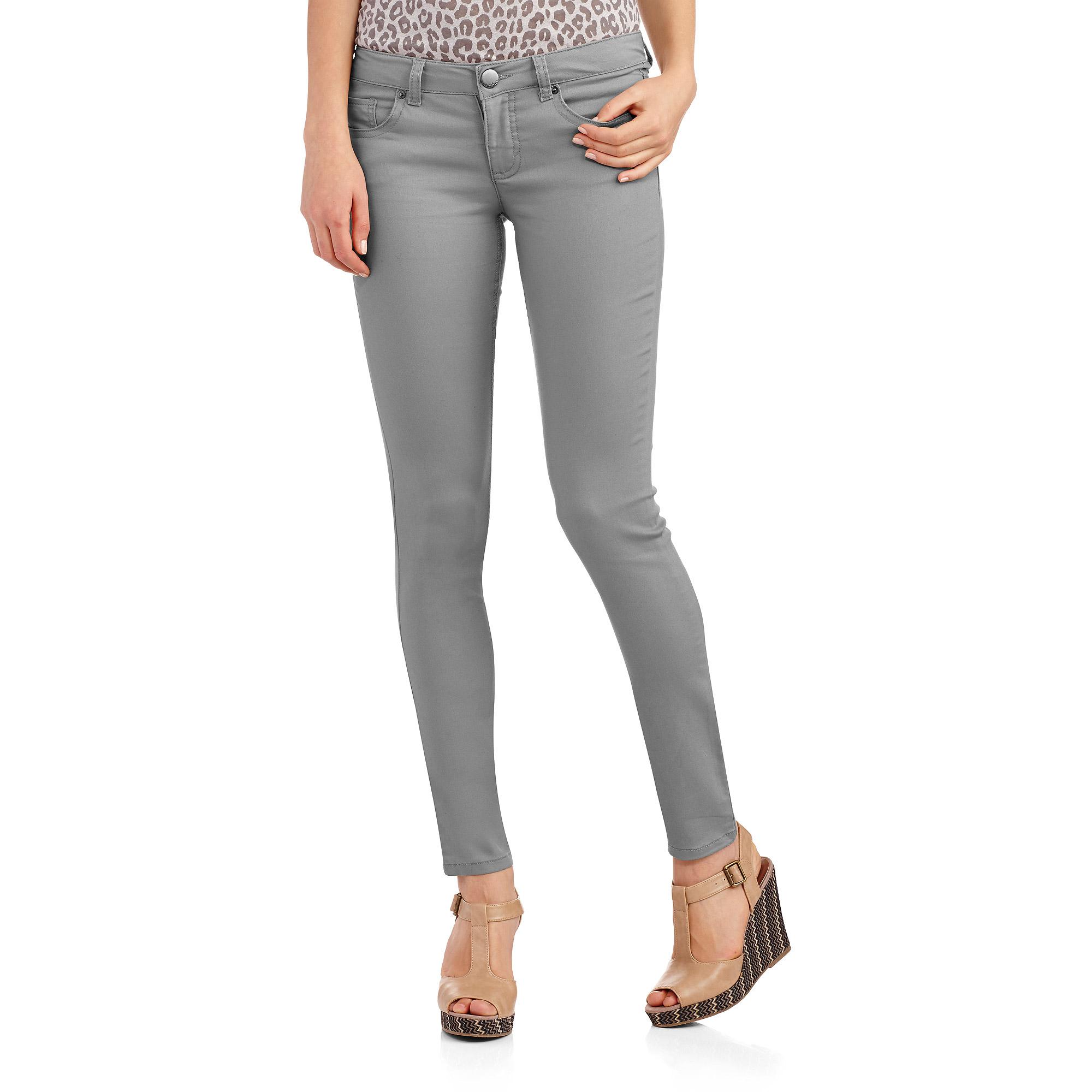No Boundaries Juniors' Colored Skinny Jeans - Walmart.com