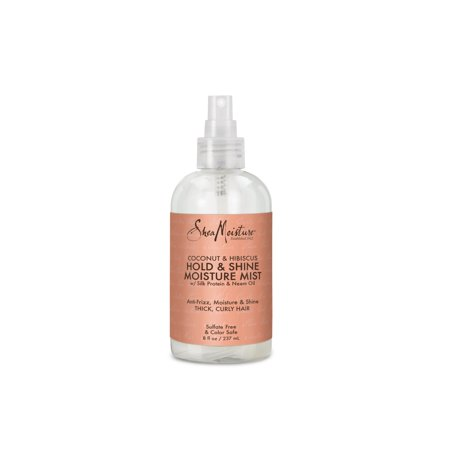 SheaMoisture Coconut & Hibiscus Hold & Shine Moisture Mist Sulfate-Free, 8 oz