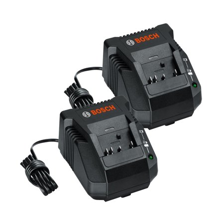 Bosch BC660 (2 Pack) 18-volt Lithium-Ion Battery Charger # (Benchtop Pro 18 Volt Battery And Charger)