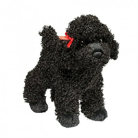 Toy Poodle Dog - Douglas Toys Gigi Black Poodle, 8