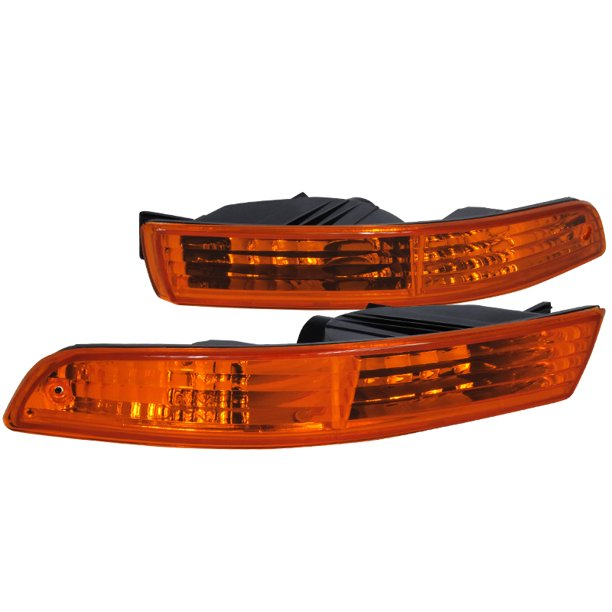 Spec-D Tuning For 1994-1997 Acura Integra Jdm Amber Bumper
