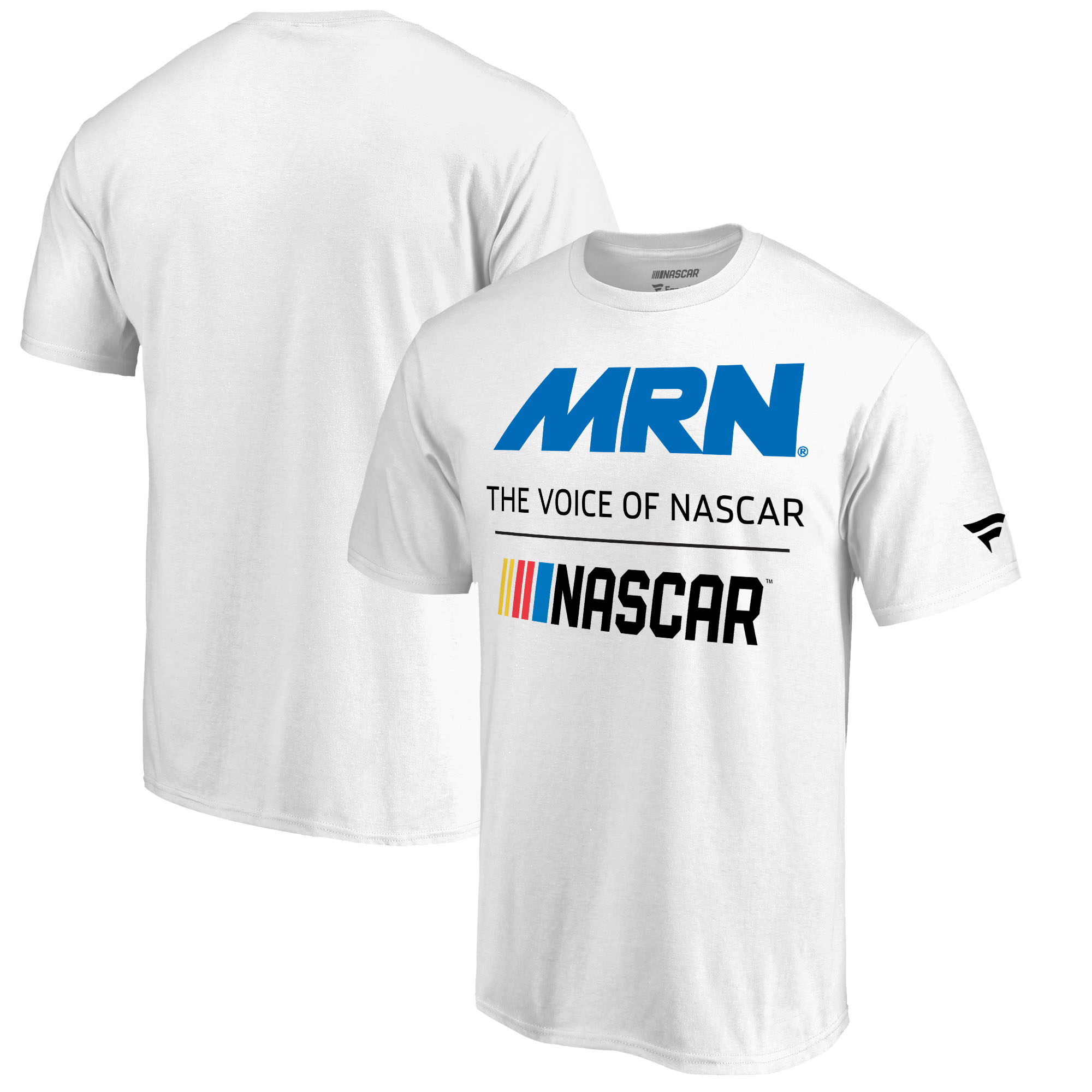 Fanatics Branded Motor Racing Network NASCAR Voice T-Shirt - White