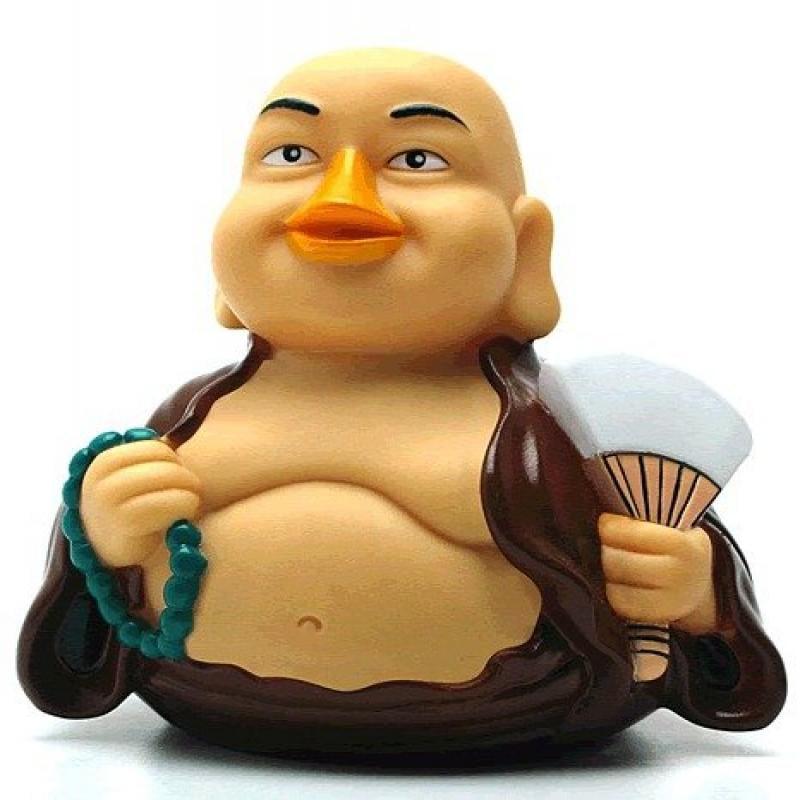 CelebriDucks Fortune Buddha RUBBER DUCK Bath Toy by Celebriducks