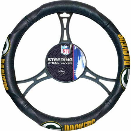 NFL Steering Wheel Cover, Packers](Packers Colors)