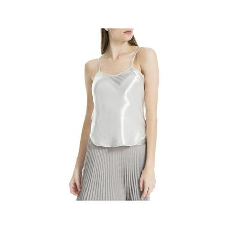 Max Studio Womens Satin Textured Camisole Top
