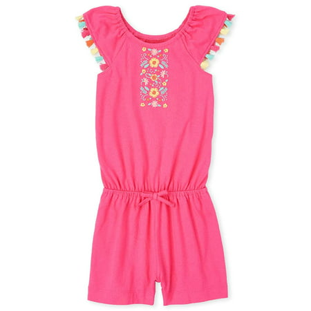 The Childrens Place Baby Girls Short Rompers, Cupcake, 12-18MOS The Childrens Place Baby Girls Short Rompers, Cupcake, 12-18MOS