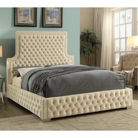 Meridian Sedona Velvet Upholstered Bed