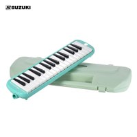 SUZUKI MX-32D Melodion Melodica Pianica 32 Piano Keys Musical Education Instrument with Long & Short Mouthpiece Hard Case