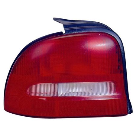 Go-Parts OE Replacement for 1995 - 1999 Dodge Neon Rear Tail Light Lamp Assembly / Lens / Cover - Left (Driver) Side 5261863AB CH2800137 Replacement For Dodge Neon Dodge Neon Tail Lamp