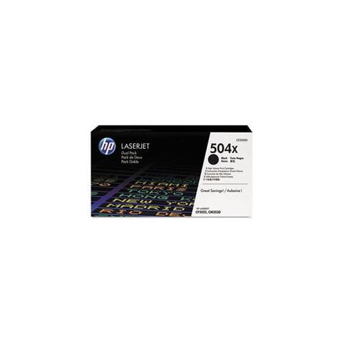 Hp 504x Black Dual Pack Laserjet Toner C