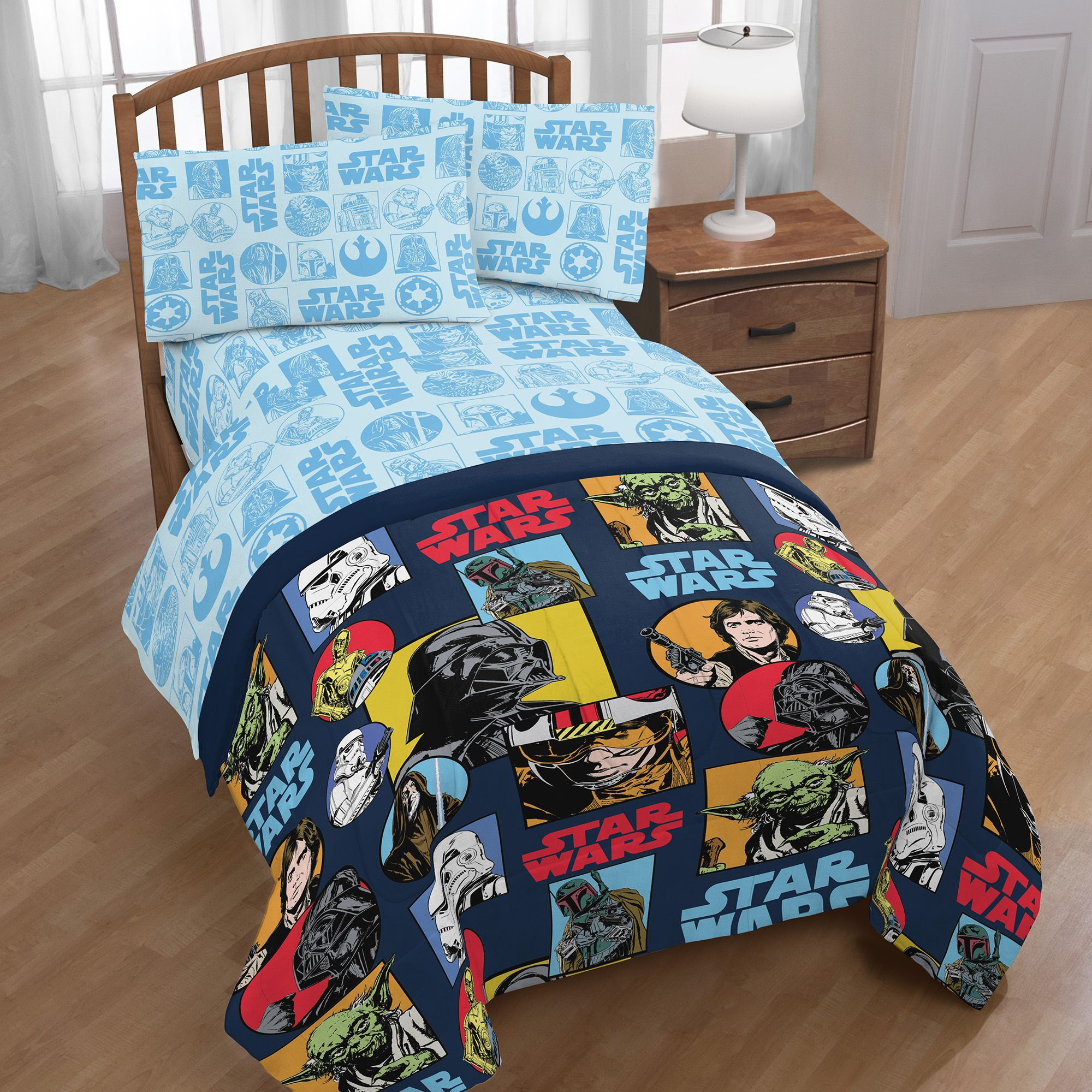 Star Wars Galactic Grid 5 Piece Full Bed in a Bag