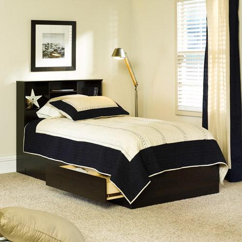 Mainstays Twin Storage Bed, Cinnamon Cherry