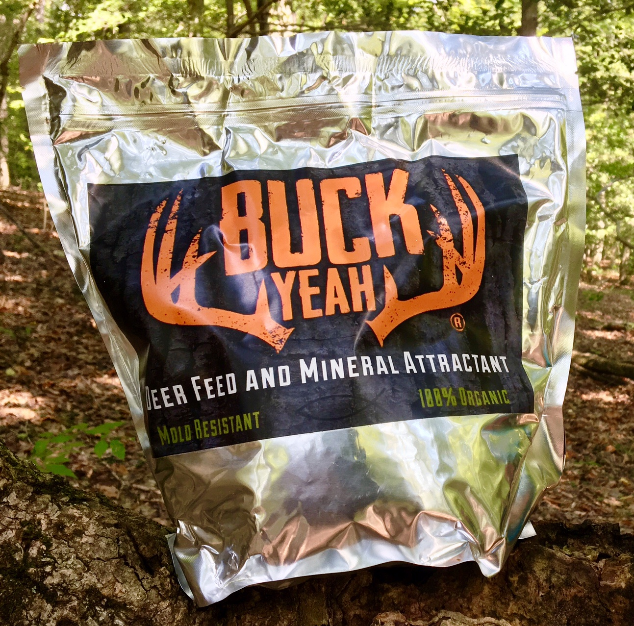 Buck Yeah Pro-Fusion Deer Rack Mineral & Attractant