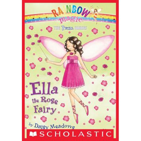 Petal Fairies #7: Ella the Rose Fairy - eBook