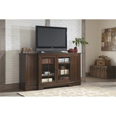 Ashley Hodgenville 72 Tall TV Stand In Rustic Brown