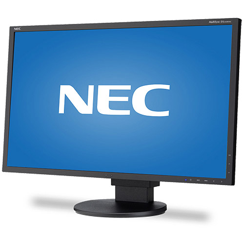 "NEC Display 24"" Widescreen LED-Backlit Desktop Monitor with IPS Panel (EA244WMi Black)"