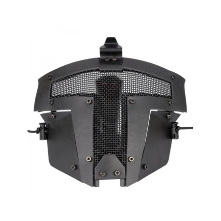 Ropalia Full Face Mask Tactical Airsoft Paintball Steel Mesh Protective Combat Face Mask