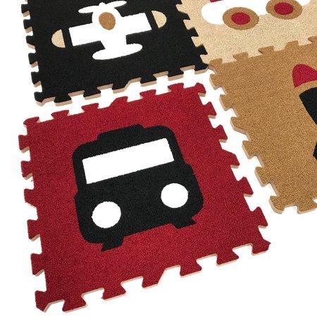 Matney Puzzle Mat Interlocking Floor Kids Play Carpet Tiles Baby Foam
