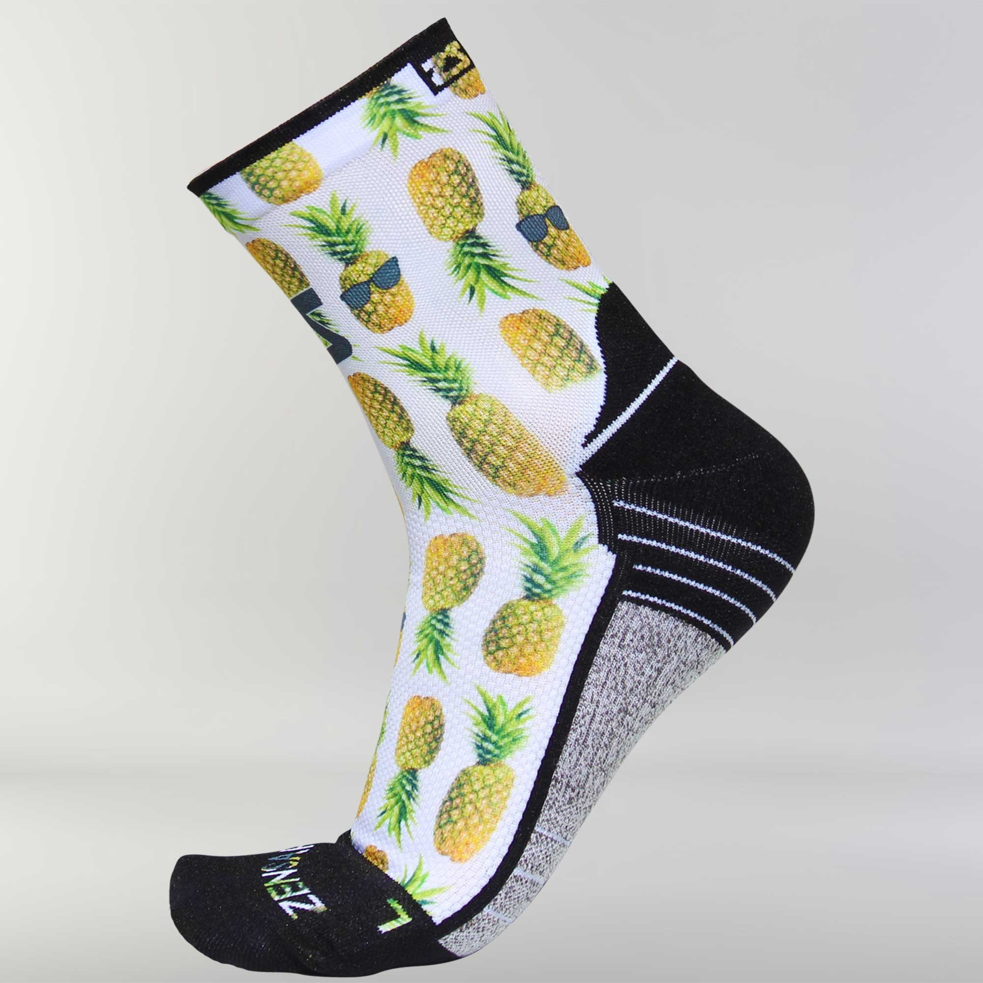 Foodie Socks (Mini Crew) S / Pineapple