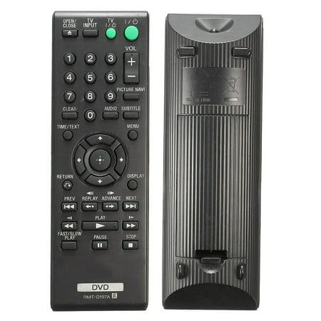 DVD Remote Control For SONY RMT-D197A DVP-SR210 DVP-SR210P DVP-SR510 DVP-SR510H