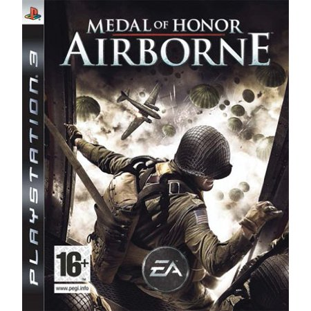 Medal of Honor Airborne (PS3 Game) Sony PlayStation 3 HEROES JUMP. ENEMIES FALL (Bf Harline Ps3)