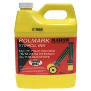 MARSH 20926 Stencil Ink, Yellow