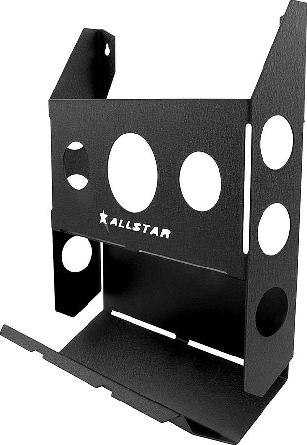 Allstar Performance Black Toilet Paper Holder Magazine Rack P N 12224 by ALLSTAR PERFORMANCE
