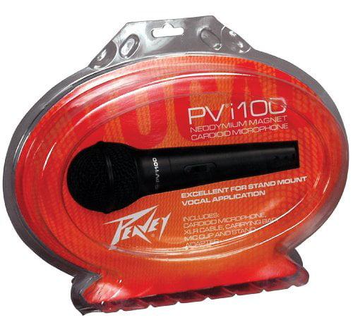 Peavey Pvi100xlr Cardioid Unidirectional Dynamic Microphone W xlr Connector by Peavey