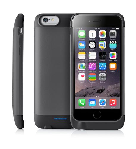 "Ibattz Ib-rv6-spg-v1 Iphone[r] 6 4.7"" Refuel Invictus 3,200mah Battery Charger Case [space Gray]"