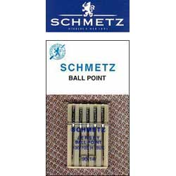 Schmetz Ball Point Needles - Size 90/14 (k-90b)
