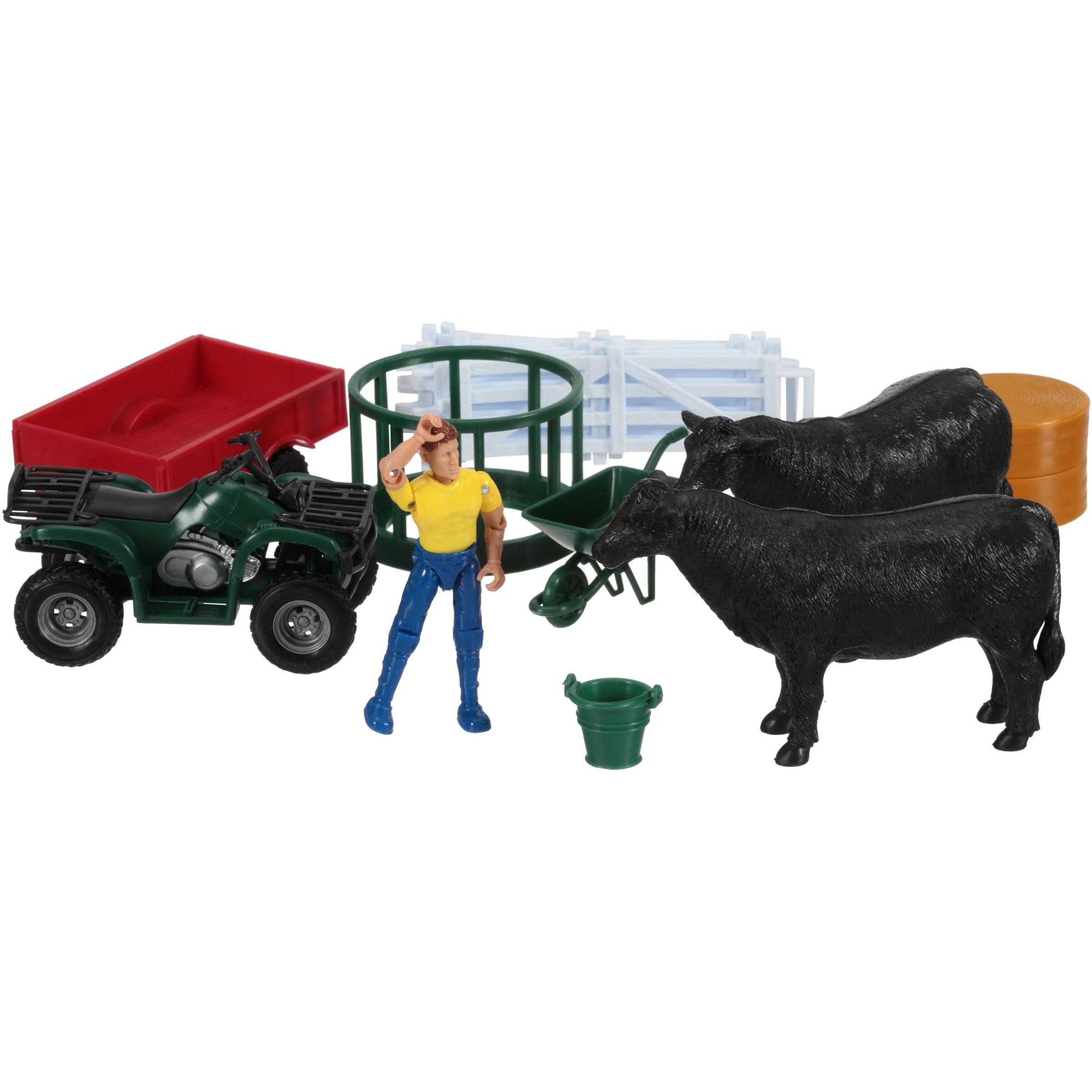 NewRay Country Life Farm Playset 22 pc Box by NewRay Toys