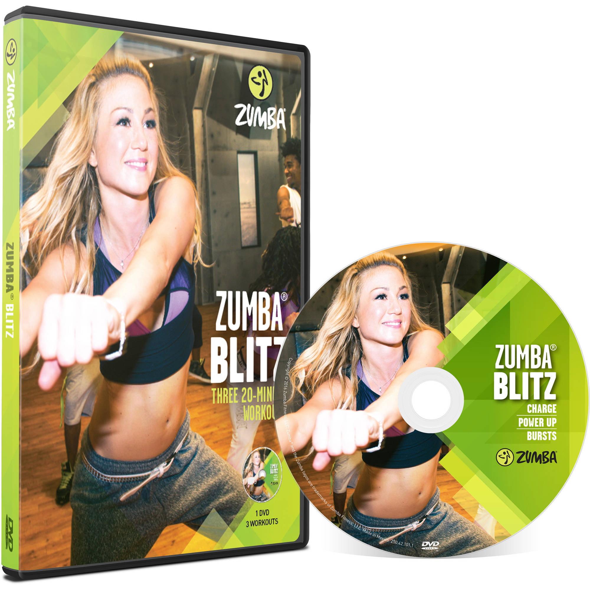 Zumba Blitz DVD by