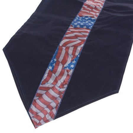Deluxe Patriotic Table Runner