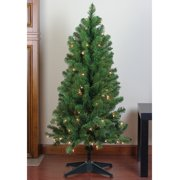 4 ft. Pre-Lit Noble Pine Artificial Christmas Tree