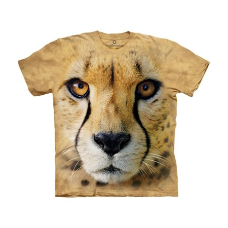 - The Mountain Sand 100% Cotton Bf Cheetah Endanger USA T-Shirt